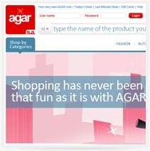 Agar - עיצוב ובניית אתר