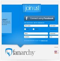 עיצוב ובניית אתר fanarchy