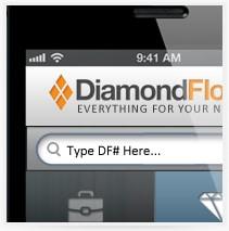 עיצוב אפליקציה לסלולר - diamond floor
