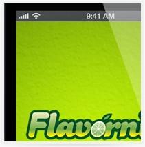 עיצוב אפליקציה Flavornite