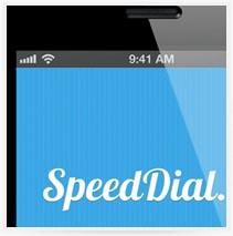 עיצוב אפליקציה לסלולר Speed Dial
