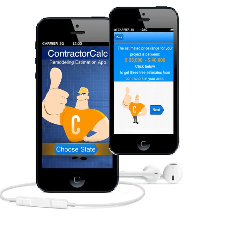 עיצוב אפליקציה למובייל contractor