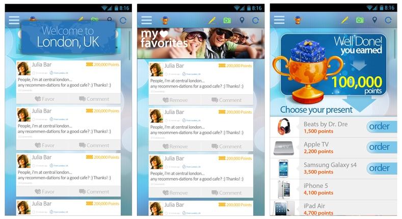 פיתוח אפליקציה למובייל Travel2a